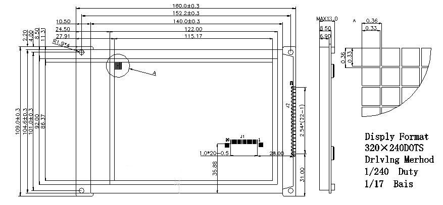 ic1407led点阵电路图